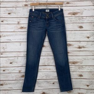 Hudson Collin Flap Skinny Jeans Size 26